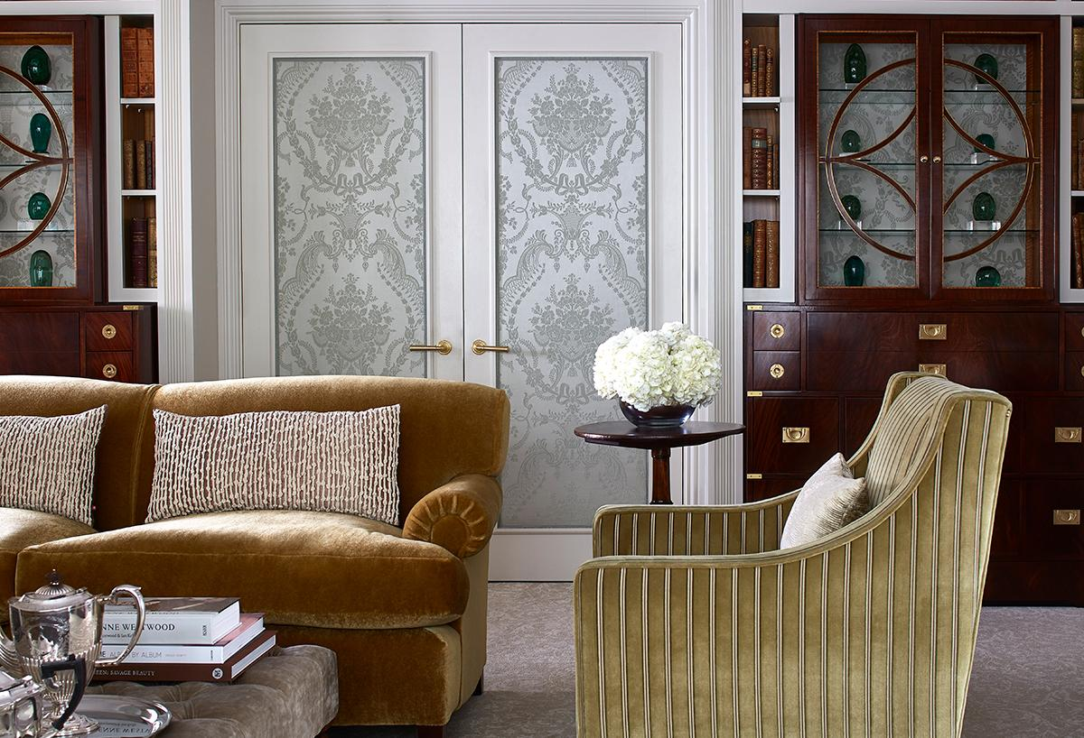 The Goring Hotel London Royal Suite featuring bespoke fabric by Gainsborough