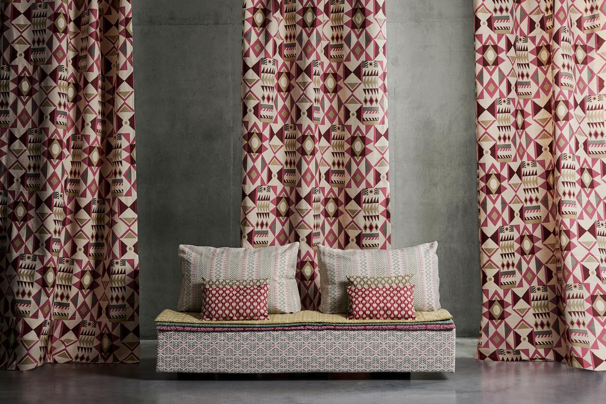 Kindred by A Rum Fellow and George Spencer Designs suitable for upholstery, curtains and cushions