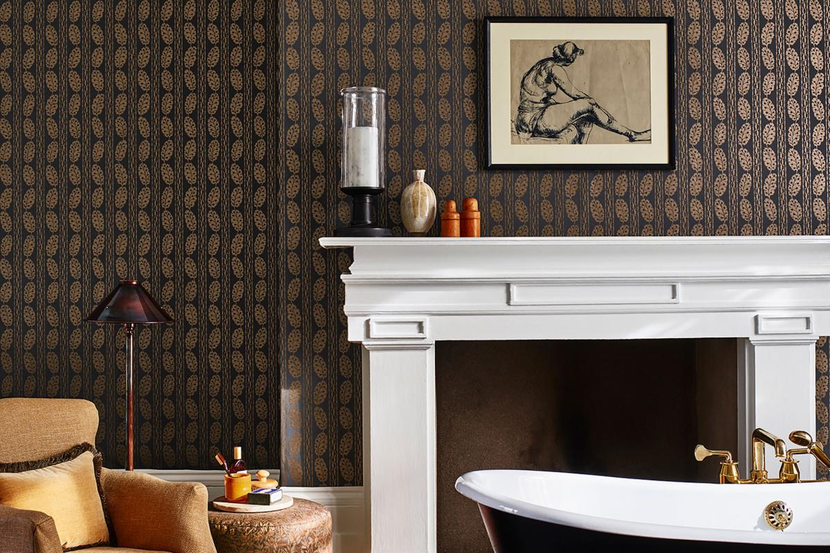 Berwick wallpaper by George Spencer Designs - luxury wallcoverings for interior design projects
