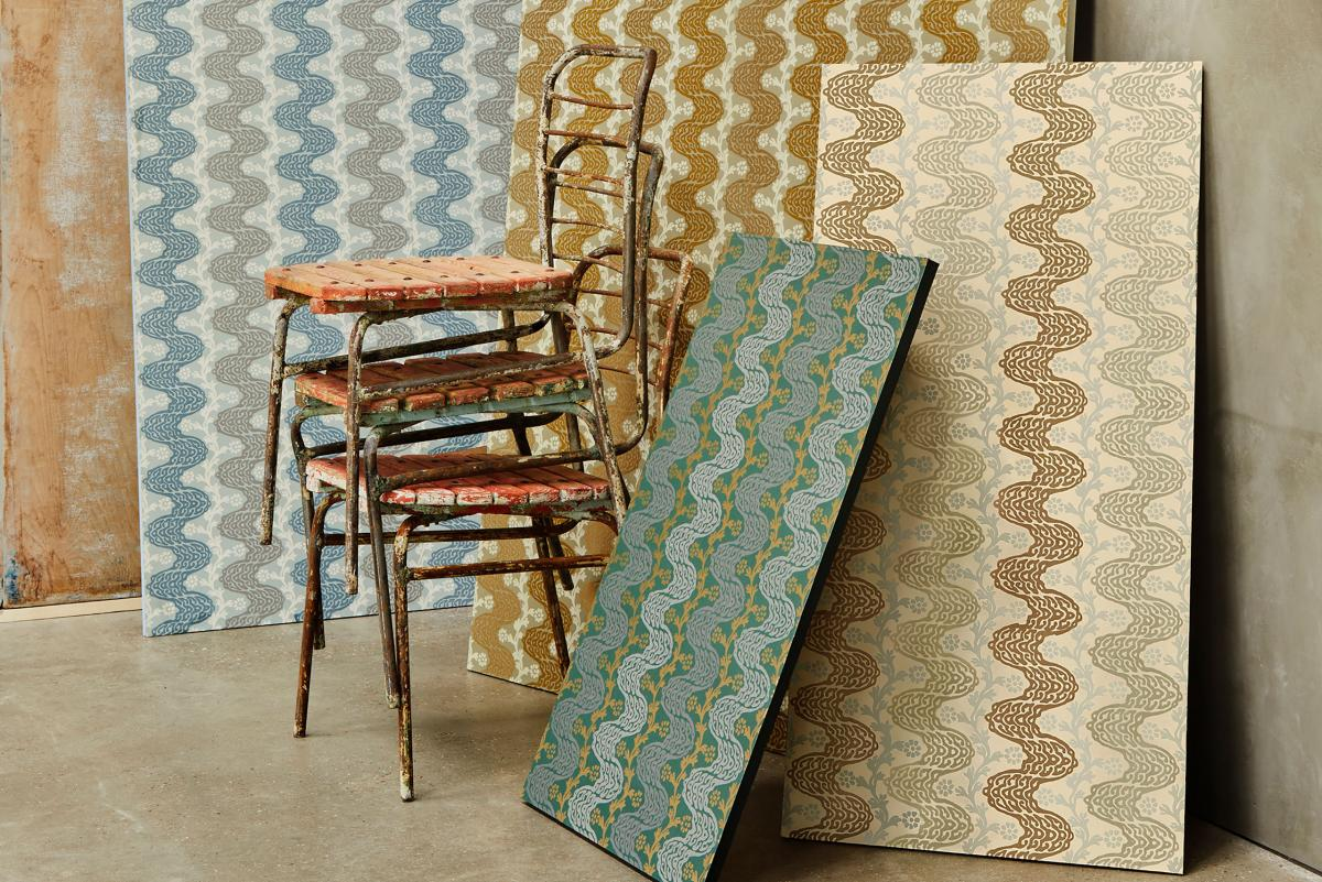 handcrafted wallpaper by Gainsborough