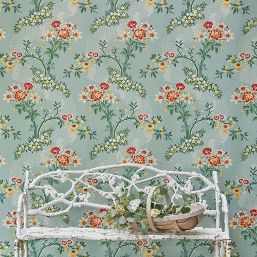 Gainsborough hand printed wallpaper for interior design projects