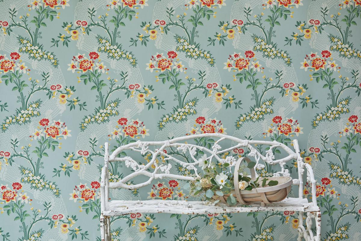 luxury wallpaper by Gainsborough