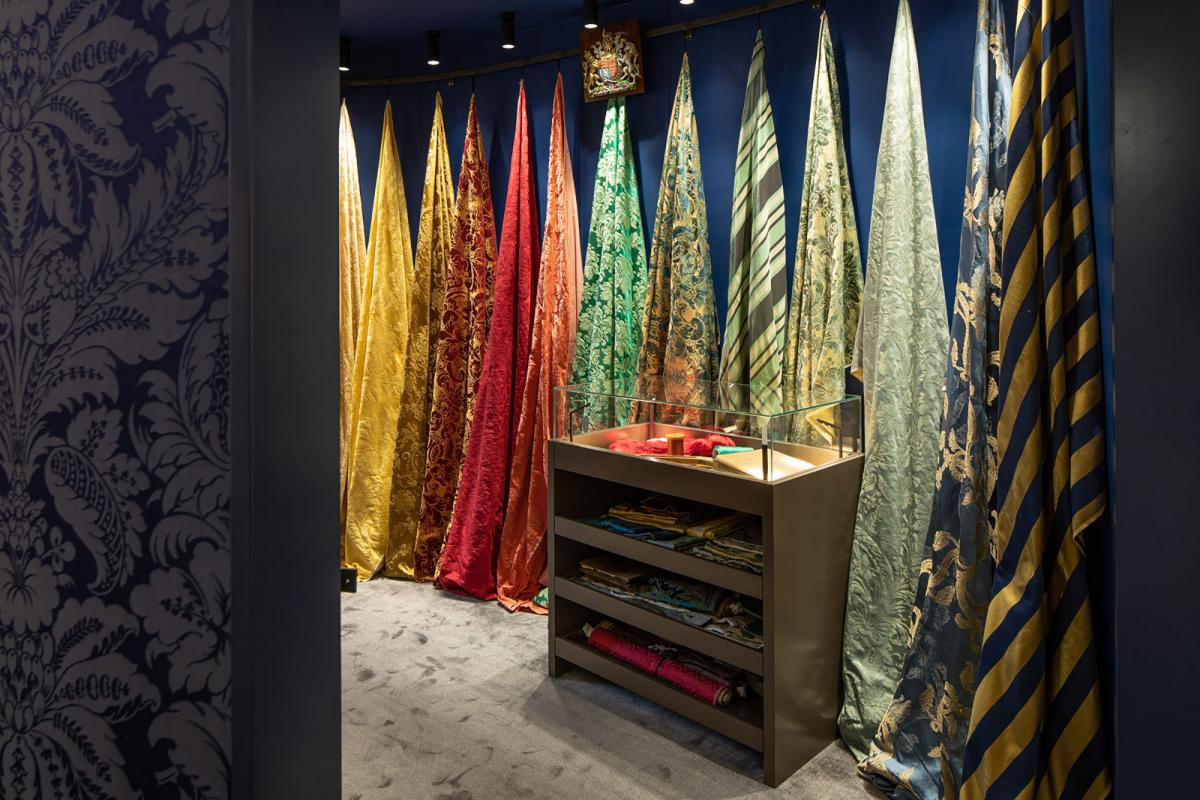 George Spencer Designs and Gainsborough - fabric showroom Design Centre Chelsea Harbour London
